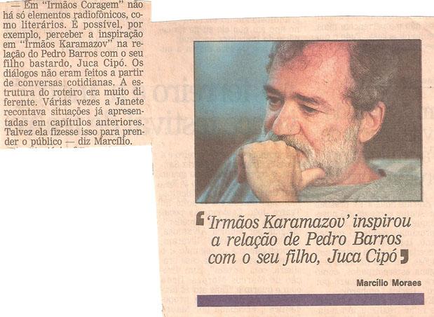 Obras_Novelas_Irmãos Coragem_Clipping_Imagem 1_O Globo