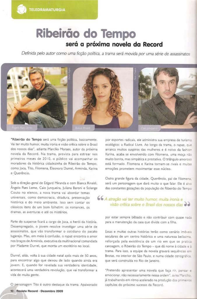 Obras_Novelas_Ribeirão do Tempo_Imagem 1_Clipping_Revista da Record