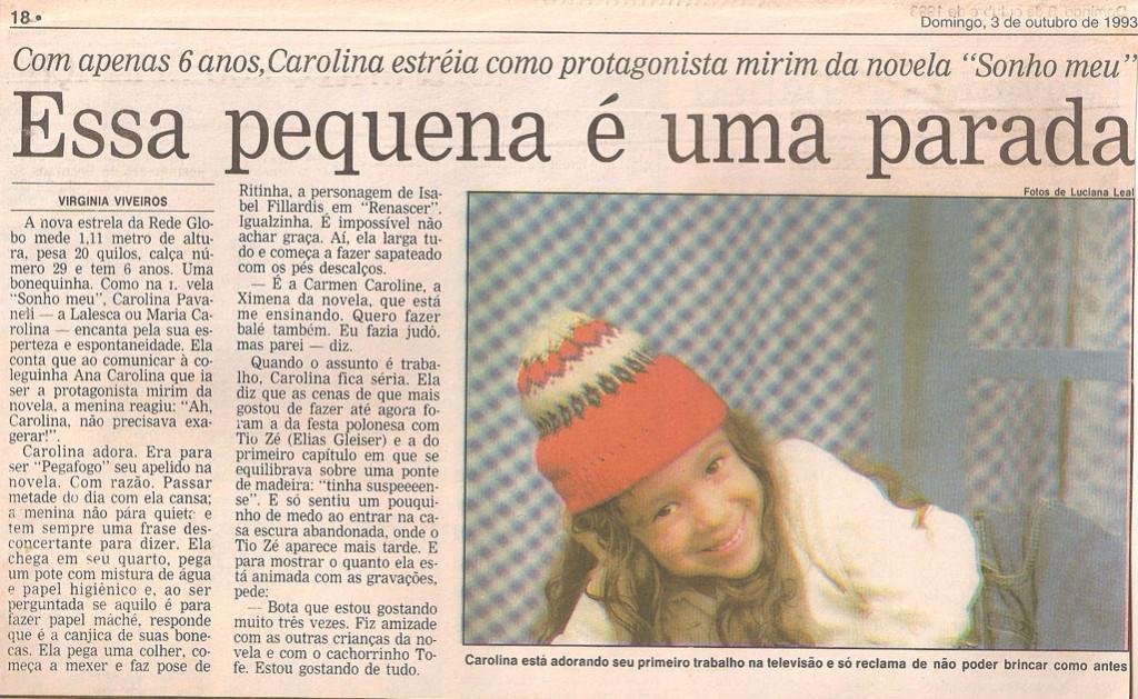 Obras_Novelas_Sonho Meu_Clipping_Imagem 4_O Globo2_3.10.1993