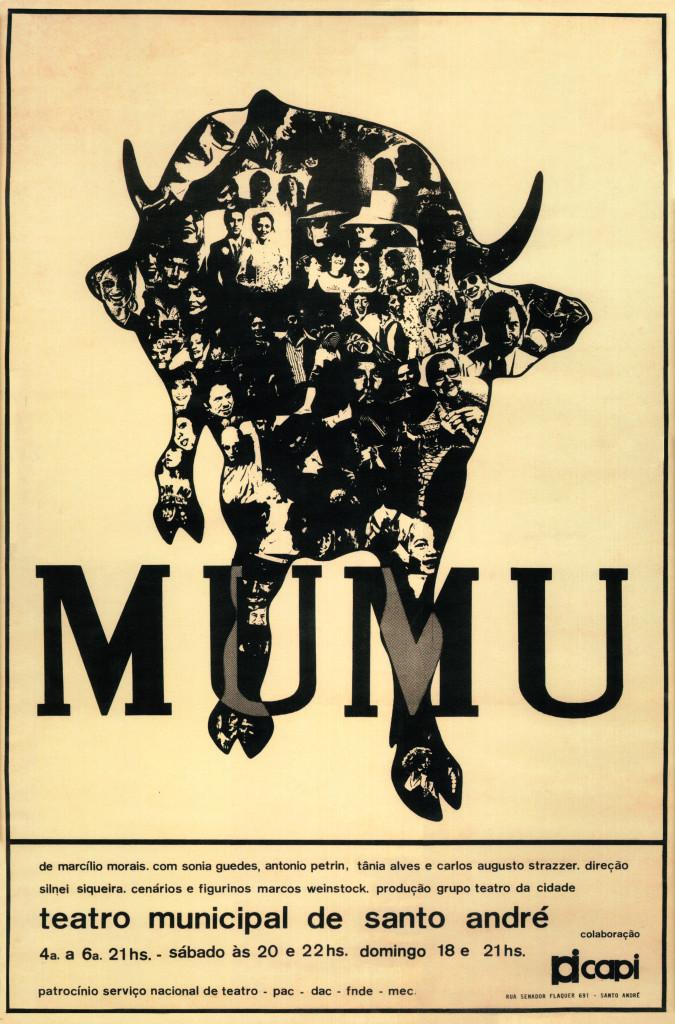 cartaz Mumu